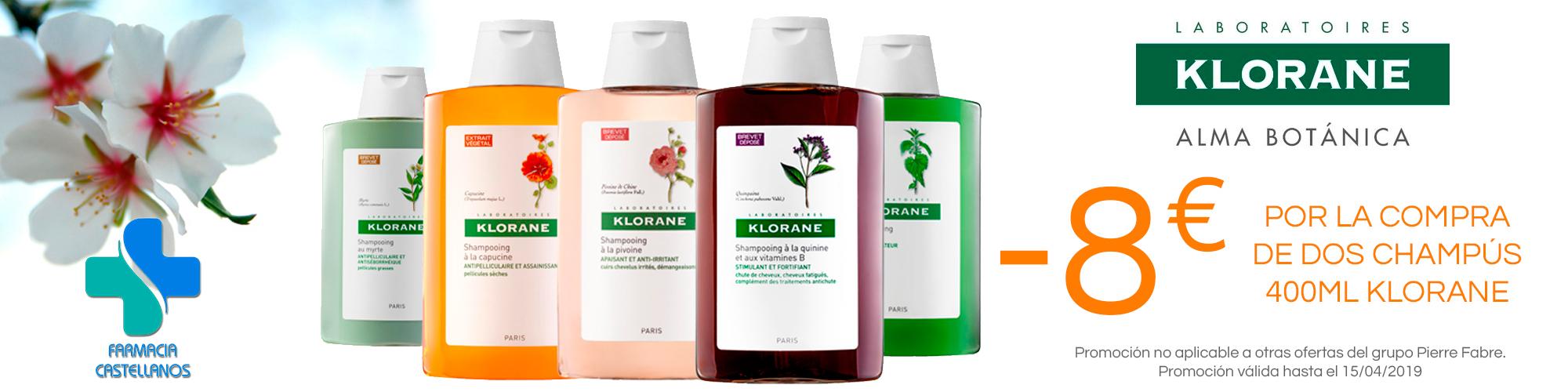 descuento-champus-klorane-farmaciabeatrizcastellanos