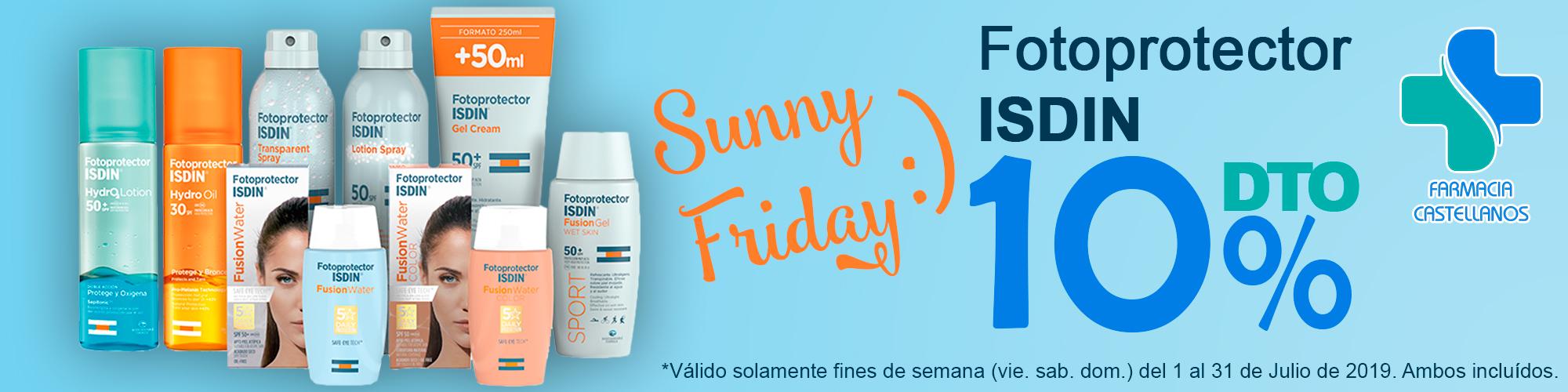 fotoprotector-isdin-sunny-friday-farmaciabeatrizcastellanos