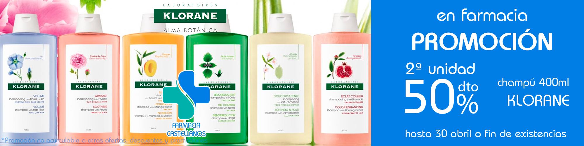 promocion-champu-klorane-farmaciabeatrizcastellanos